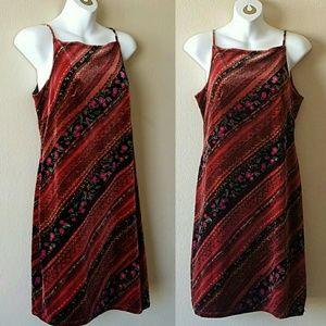 Vintage 90's velvet dress♡